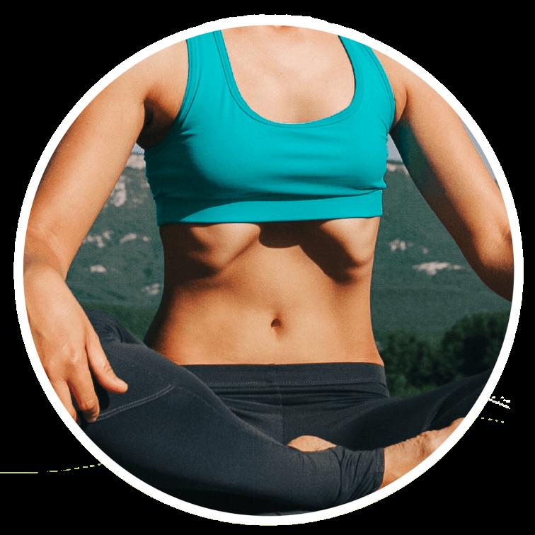 Вакуумное втягивание живота похудение